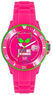 "Часовник Ice Watch - F*ck Me I'm Famous - FluoPink Head - От серията ""F*ck Me I'm Famous"""