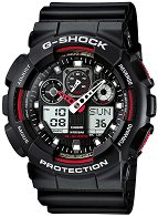 "Часовник Casio - G-Shock GA-100-1A4ER - От серията ""G-Shock"""