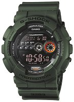 "Часовник Casio - G-Shock GD-100MS-3ER - От серията ""G-Shock"""