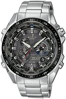 "Часовник Casio - Edifice Tough Solar EQS-500DB-1A1ER - От серията ""Edifice: Tough Solar"""