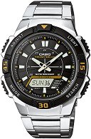 "Часовник Casio Collection - Tough Solar AQ-S800WD-1EVEF - Oт серията ""Casio Collection: Tough Solar"""